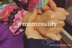 the #momreality project is all about pushing back against the fake perfection in social media and embracing your real, beautiful, chaotic life.